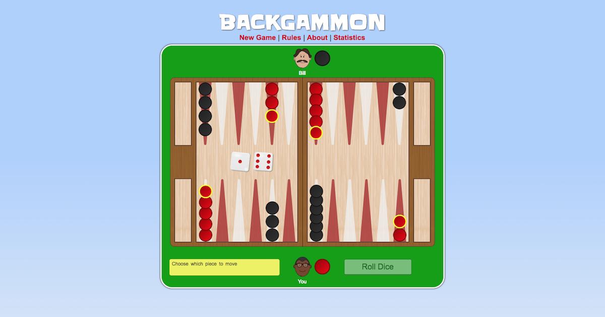 different backgammon games