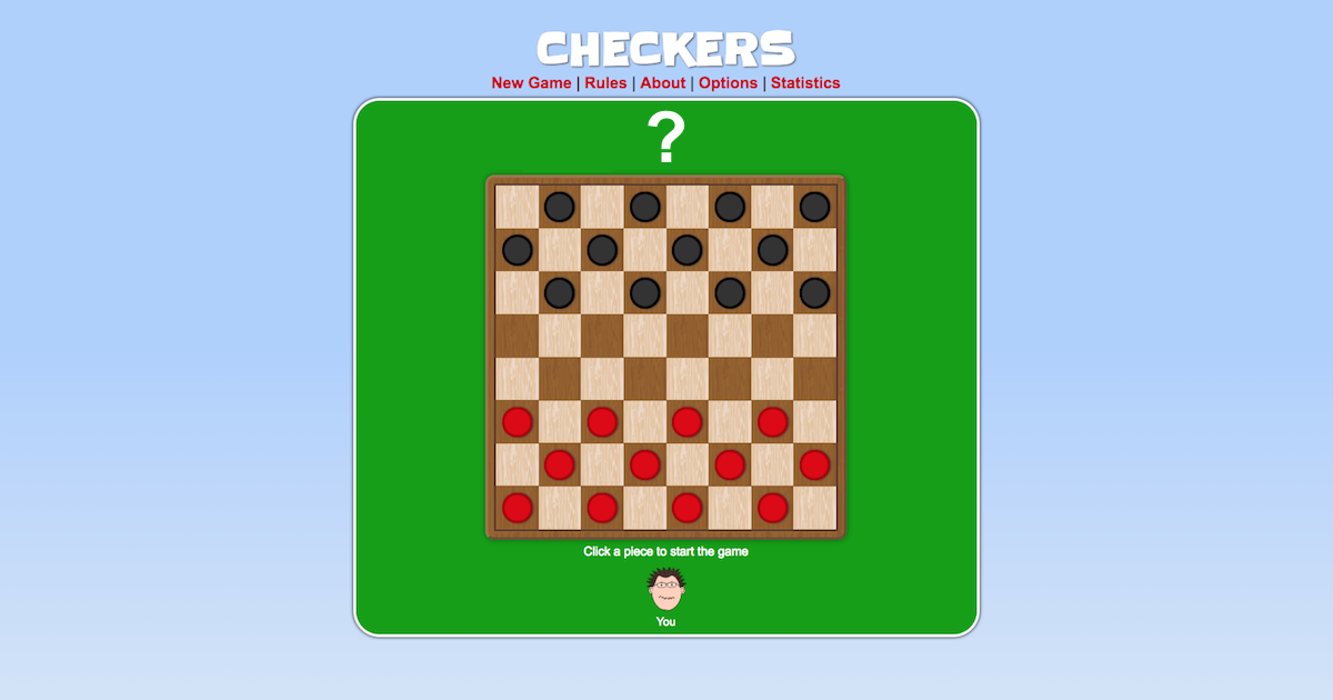 Checkers | Play it online!