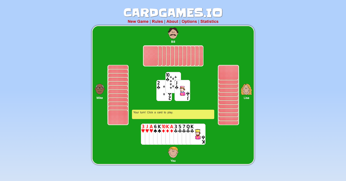 card games online free
