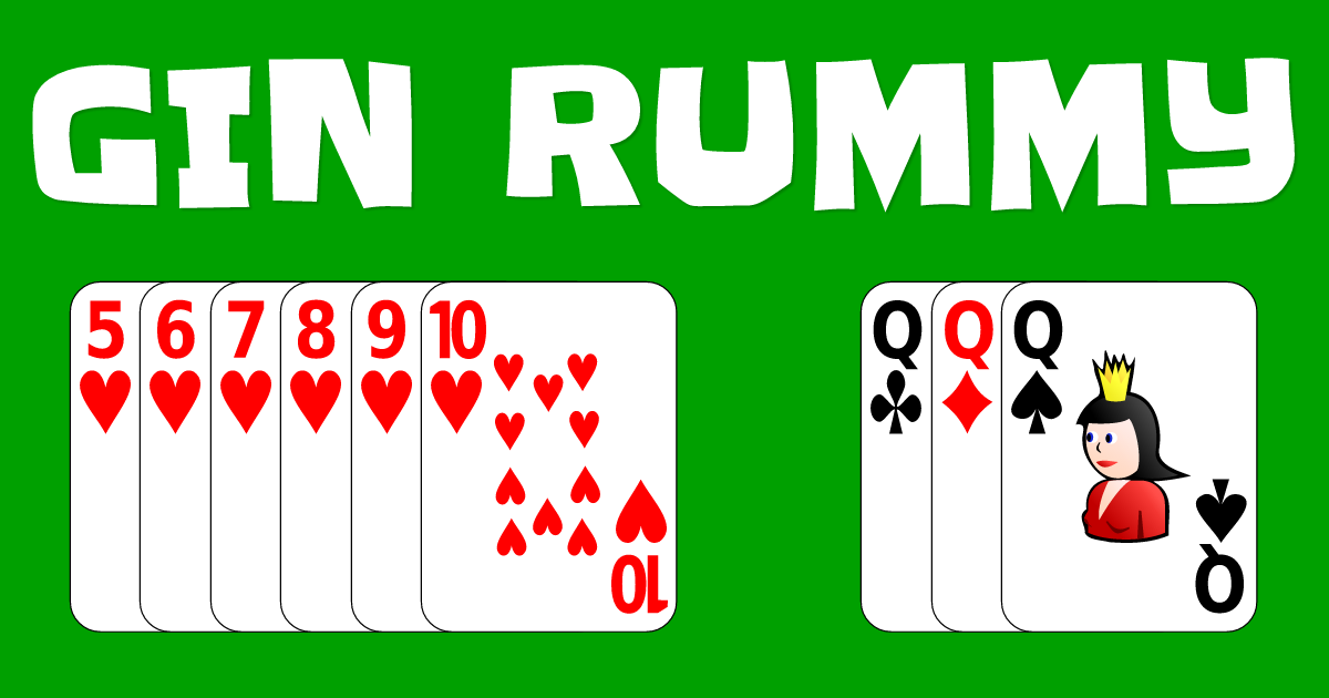 gin rummy card game online