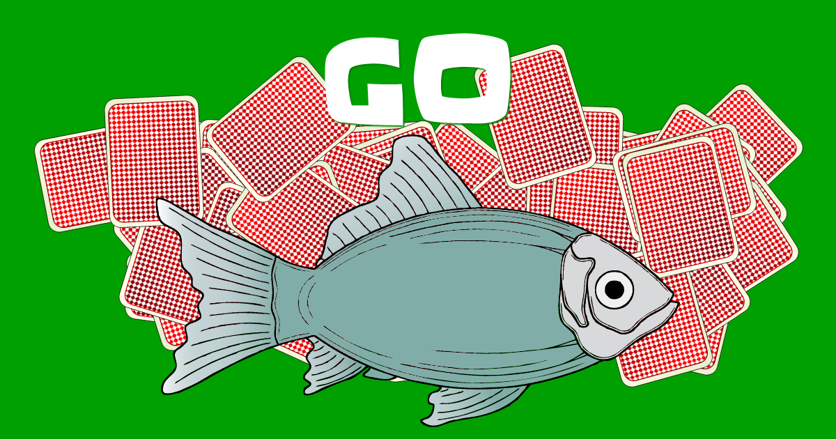 Go fish play it online for Go fish cards