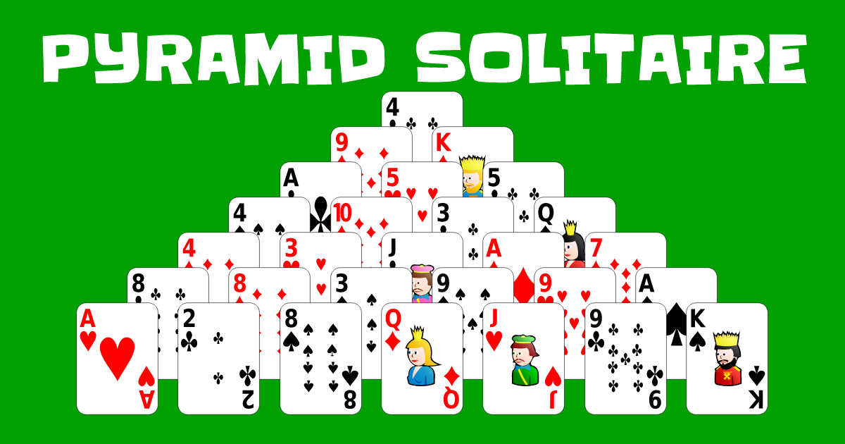 how to play pyramid solitaire card game