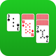 Play classic Solitaire (Klondike) online for free. Simple gameplay, excellent graphics and unlimited undos!