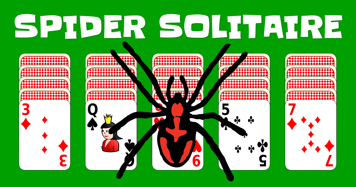 spider patience card game