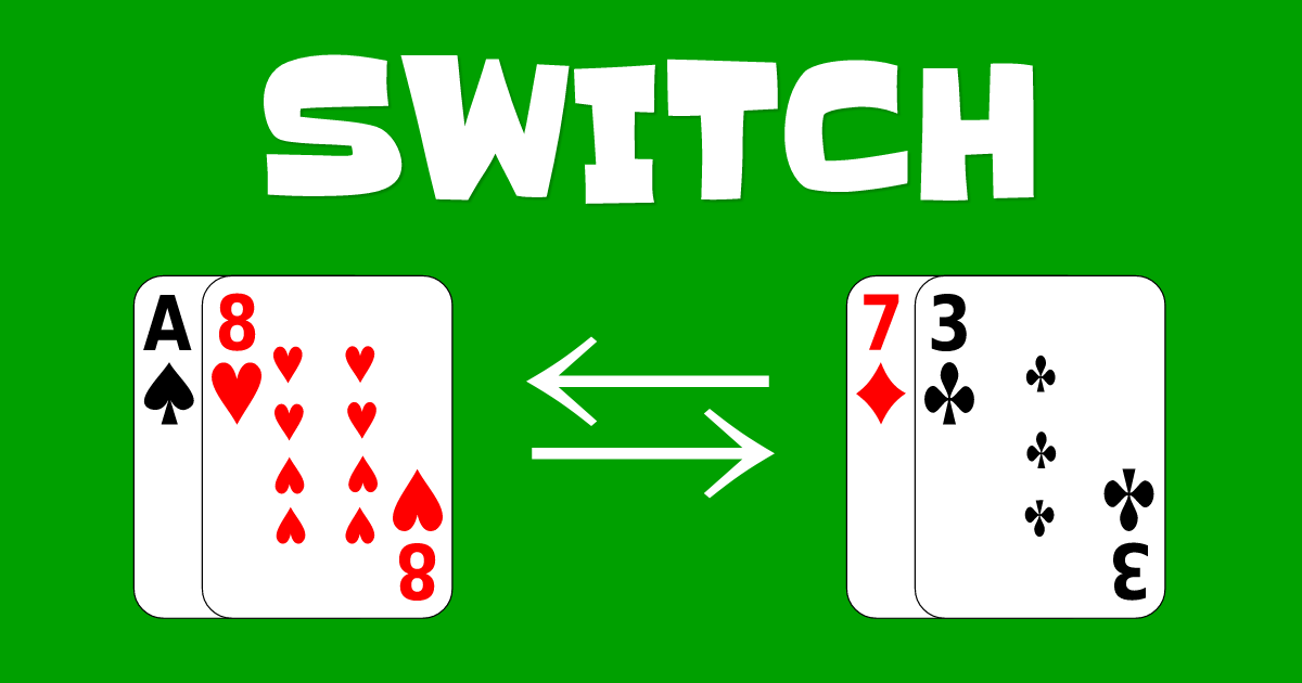 switch card game how to play