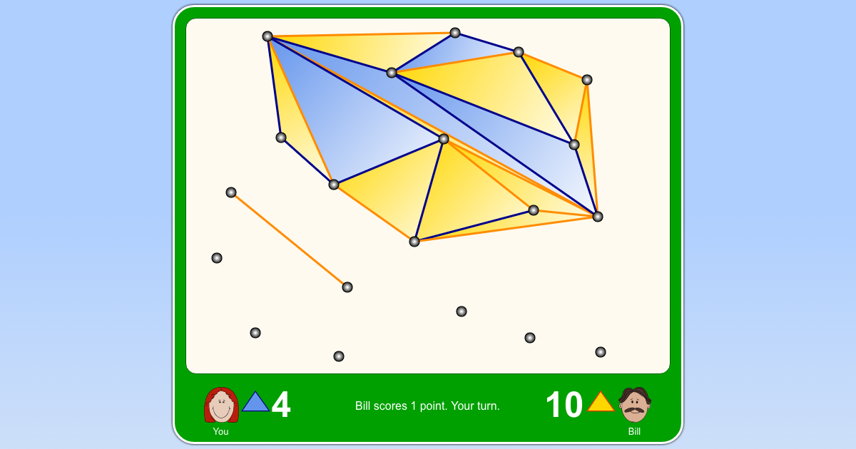 triangles puzzle game